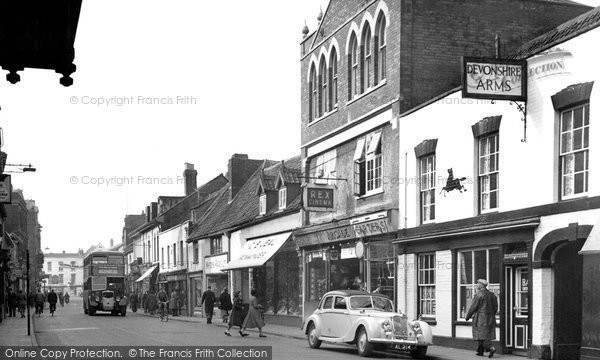 Photo of Bridgwater, Eastover c1955