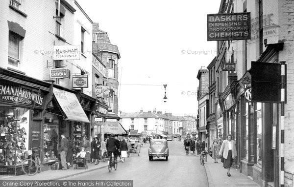 Bridgwater, Fore Street c.1955