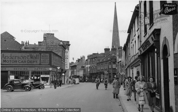 Bridgwater, High Street c.1955