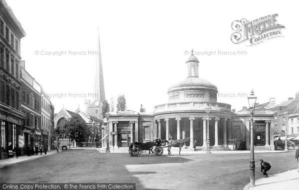 Bridgwater, Market House 1897