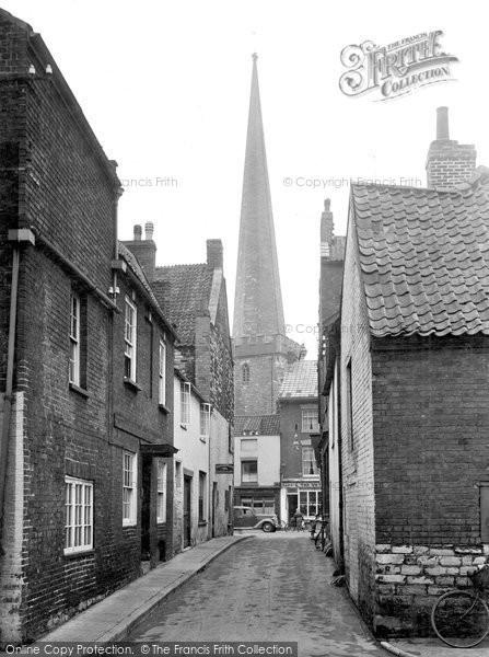 Bridgwater, St Mary's Church Spire 1936