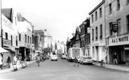 Bridgwater, St Mary's Street c1965
