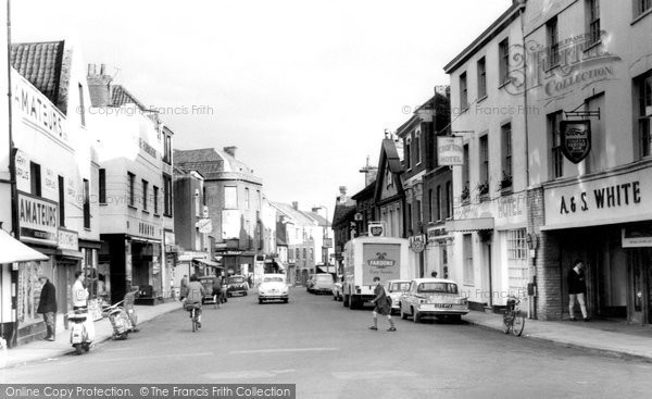 Photo of Bridgwater, St Mary's Street c1965