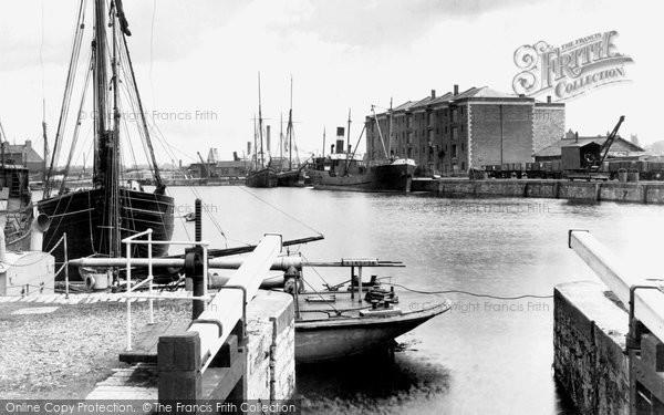 Bridgwater, The Docks 1927