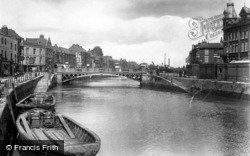Bridgwater, The River 1927