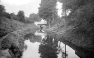 Bridgwater, Victoria Road Bridge 1936