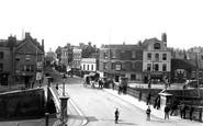 Bridgwater, View Across Bridge 1890