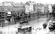 Bridgwater, West Quay c.1950