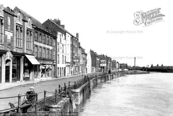 Bridgwater, West Quay c.1955