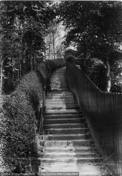 Bridlington, Danes Dyke, The Steps 1906