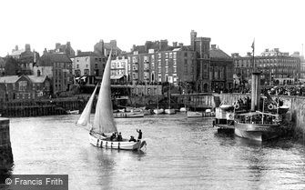 Bridlington, Harbour 1903