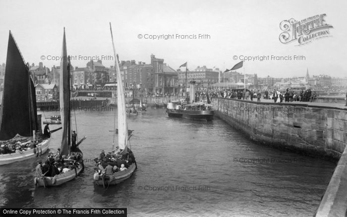 Bridlington, Harbour 1913