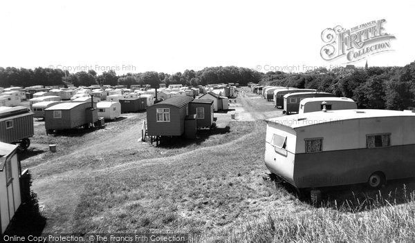 Photo of Bridlington, Limekiln Lane Camp c1955