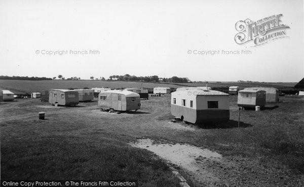 Bridlington, Marton Road Caravan Site c.1955