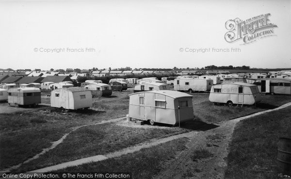 Bridlington, Marton Road Caravan Site c.1955