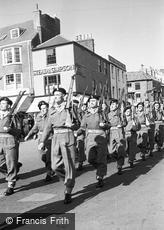 Bridlington, Military Parade c1955