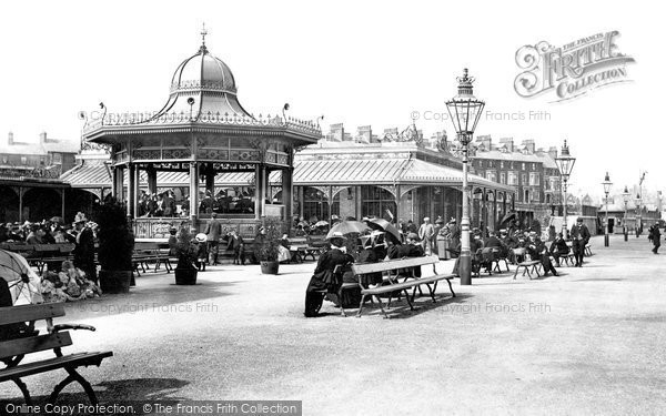 Bridlington, New Spa And Bandstand 1897