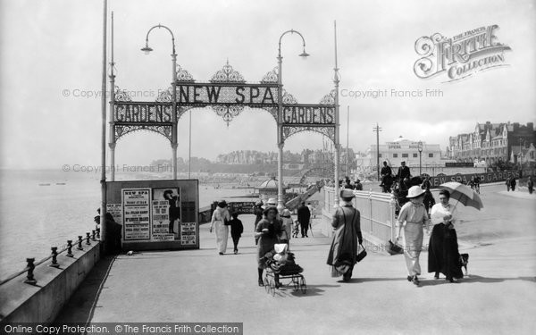 Bridlington, New Spa Entrance 1913