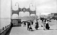 Bridlington, New Spa Entrance 1913