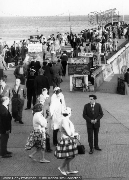 Bridlington, People c.1960
