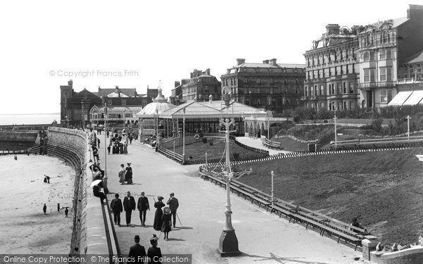 Photo of Bridlington, Prince's Parade 1906