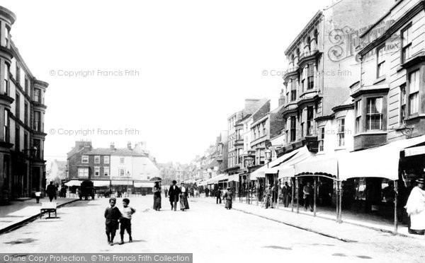 Photo of Bridlington, Prince Street 1897