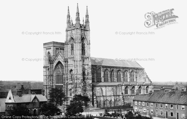 Bridlington, Priory Church c.1885
