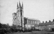 Bridlington, Priory Church c.1885