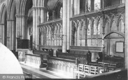 Bridlington, Priory Church, New Screen c.1885