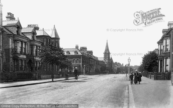 Bridlington, Quay Road 1903