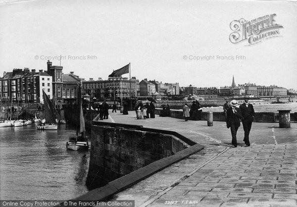 Bridlington, Quay, The Pier 1897