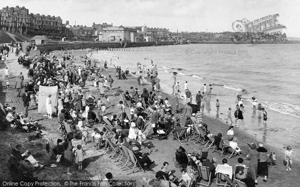 Bridlington, South Sands 1926