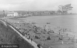 Bridlington, The Beach 1913