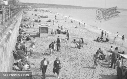 Bridlington, The Beach 1954