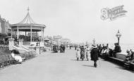 Bridlington, The Esplanade Bandstand 1886
