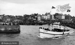 Bridlington, The Harbour And Boys' Own 1954