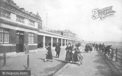 Bridlington, The New Shelters 1925