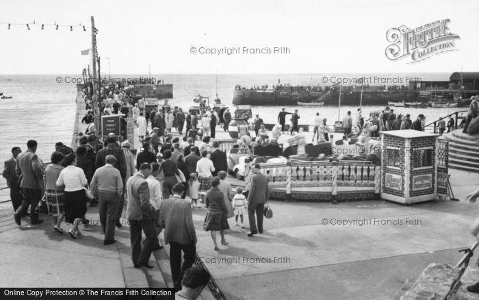 Photo of Bridlington, The North Pier c.1960