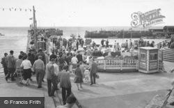 The North Pier c.1960, Bridlington