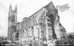 Bridlington, The Priory Church, South East c.1885