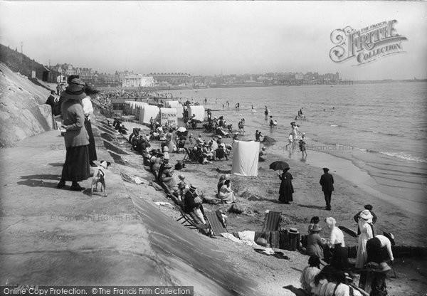 Bridlington, The Sands 1913