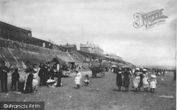 Bridlington, The Sands c.1885