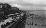 Bridlington, The Terraces 1906