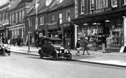 Bridport, Car In West Street 1930