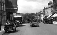 Bridport, Cars In East Street 1930