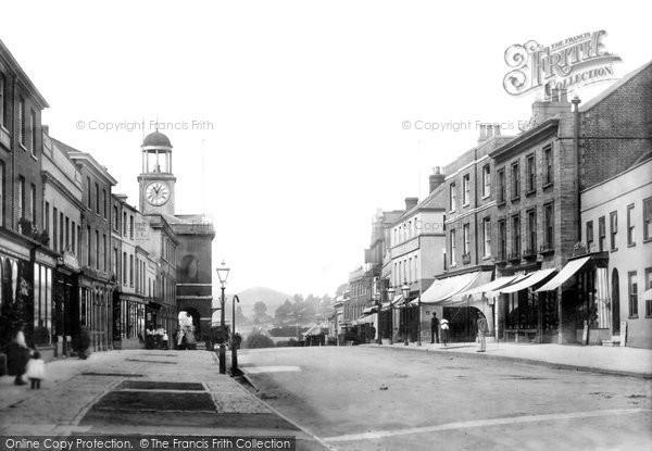 Bridport, East Street 1897