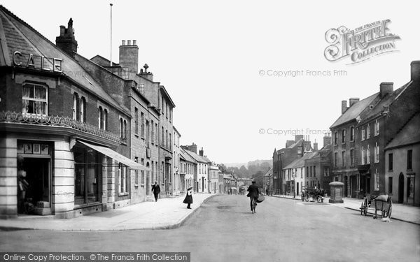 Bridport, East Street 1912