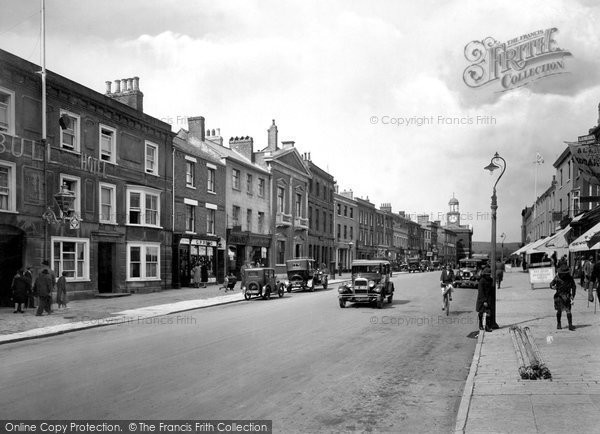 Bridport, East Street 1930