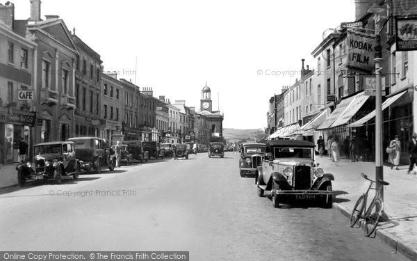 Bridport, East Street 1937