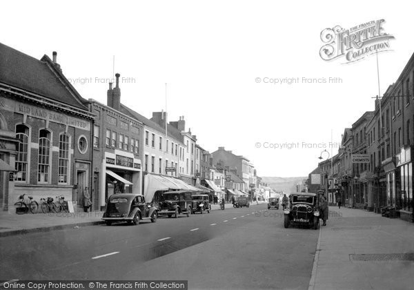 Bridport, East Street 1940